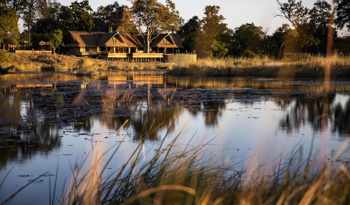 Voyage luxe Botswana Kings Pool