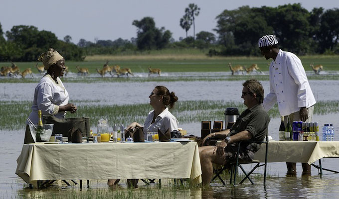 Voyage luxe Botswana Jao Camp