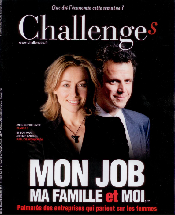 couverture challenges oct 2013